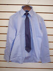 Boys Arrow $22 Purple Long Sleeved Dress Shirt W/ Tie Size 8 - 20
