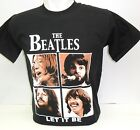 T-shirt maglia rock musica THE BEATLES Let it be