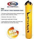 BANANA HEAVY BAG HB6 6ft GENUINE FAIRTEX MUAY THAI BOXING FIGHTING MMA UN-FILLED