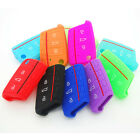 Silicone Car Key Case Cover Shell For Volkswagen VW Golf 7 mk7 Skoda Octavia A7