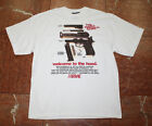 Men's ARME Breakdown White Tee Shirt 100% Cotton