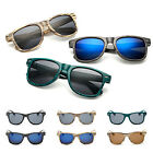 New Women Mens Wood Grain Frame Retro Sunglasses Eyewear Party Seaside Glasses