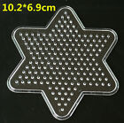 5MM Large Pegboards for Perler Bead Hama Fuse Beads Clear Square Design Board