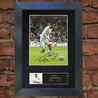 GARETH BALE No2 Real Madrid Signed Autograph Mounted Photo Repro A4 552
