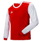 Adidas Men's adiTEAM 12 Jersey Long Training Top T-Shirts Red-White X27725