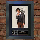HARRY STYLES No1 1D Signed Autograph Mounted Photo Repro A4 Print 309