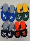 MLB Forever Collectibles Mens Jersey Mesh Slippers House Shoes on Ebay