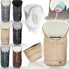 2IN1 Winterfußsack (0-36 Monate) Fußsack Kind Baby Schale Kinderwagen Buggy