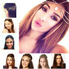Head Piece Hair band Fashion Women Metal Rhinestone Head Chain Jewelry Headband