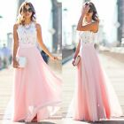 Womens Sexy Evening Party Ball Prom Gown Formal Bridesmaid Cocktail Long Dress