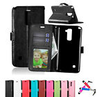 Fashion Leather Card Flip Wallet Case Stand Cover Pouch For LG K3/X Cam/Power