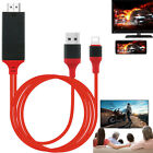 iOS11 Phone to HDMI TV Video Cable AV Adapter for iPhone 8 Plus 7 6 6S 5 5S iPad