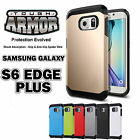 For Galaxy S6 edge Plus, Slim Ultra Thin Tough Hybrid TPU Shockproof  Phone Case