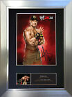JOHN CENA WWE Signed Autograph Mounted Photo Repro A4 Print 527