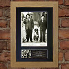 LAUREL & HARDY No1 Signed Autograph Mounted Reproduction Photo A4 Print 19
