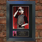 MARILYN MANSON Signed Autograph Mounted Photo Reproduction A4 Print 163