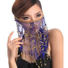 C12 Belly Dance Costume Veil Face Cloth Shawl