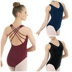 NEW Capezio Balera Strappy Fancy Back Dance Ballet Leotard Child & Adult Sizes