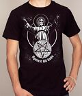 Against All Gods Funny Atheist Geeky T-shirt Men's Sizes