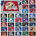 NFL Teams - 5' X 6' Tailgater Area Rug Floor Mat $99.99 USD on eBay