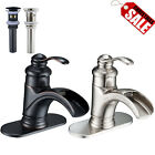 Brass Oil Rubbed Bronze Pull Out Kitchen Faucet One Hole/Handle Mixer FaucetTap