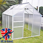 Clear Polycarbonate Garden Grow Greenhouse GrowHouse Aluminium With Foundation