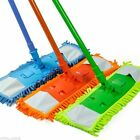 Extendable Microfibre Floor Wooden Laminate Tile Mop Cleaner Sweeper Wet Dry
