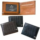 Man Half Wallet Men Half Purse Bill Card Slot  Gift Item Cow Leather 1179C