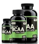 Optimum Nutrition Branched Chain Amino Acids BCAA 1000 Caps - Pick Size