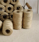 Natural Hemp Twine Cord Jute Twine Rope 50M 2mm For DIY Decor Toy Crafts Parts