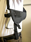 FNH FNX 9, 40, 45 | Nylon Horizontal Shoulder Holster w/ Double Mag Pouch