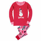 Hatley Snow Tired Snowman Applique Pyjamas
