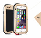 Shockproof Aluminum Gorilla Glass Metal Armor Case Cover for iPhone 7 7 Plus