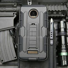 Shockproof Rubber Holster Phone Case Cover For Motorola Moto Z / Z Force Droid