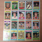 Topps FOOTBALLERS (1976, Blue Backs) Your Choice of Cards