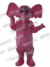 Elephant Pink color Mascot Costume  cartoon High-quality Special offer Customade