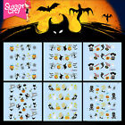 Sweet City Nail Art Water Transfer Stickers Manicure Decoration Halloween Decals