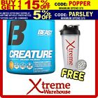 BEAST CREATURE 60 SERVES GRAPE // CREATINE SUPPLEMENT POWDER MUSCLE RECOVERY