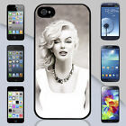 New Marilyn Monroe Drawing Illustration Apple iPhone & Samsung Galaxy Case Cover