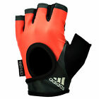 adidas ClimaLite Womens Ladies Half Finger Fitness Training Gloves Pink/ Black