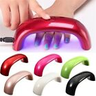 Mini Portable Elegant Nail Dryer UV Gel USB 9W LED Nail Polish Cured Lamp