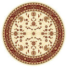 Decorative ANIMA Traditional Round Floor RUGS CARPETS 200 x 200 cm FREE POSTAGE