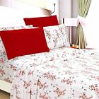 Sheets Pillowcases - Egyptian Comfort 1800 Count 6 Piece Printed Bed Sheet Set Deep Pocket