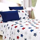 Egyptian Comfort 1800 Count 6 Piece Printed Bed Sheet Set Deep Pocket фото