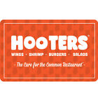 Hooters Gift Card - $25 $50 or $100 - Fast Email delivery