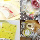 7*7CM 100 PCS SELF-ADHESIVE HANDMADE /ESPECIALLY FOR YOU CANDY COOKIES GIFT BAGS