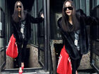 Fashion popular imitation mink fur jacket coat hooded jacket long-sleeved jacket