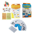Kids Learning Number Flash Cards Pocket Fun Educational Playing Game Activity