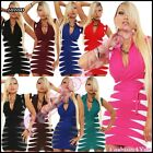 Sexy Women's Jumper Dress Ladies Casual Striped Pullover One Size 6,8,10,12 UK