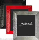 Rakar Chalkboard in Gloss Black, Red and Silver